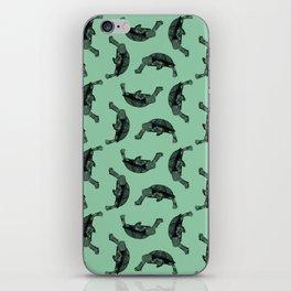 Turtle pattern iPhone Skin