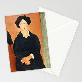 The Italian Woman, Amedeo Modigliani Stationery Cards