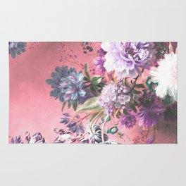 Pink Misty Master Floral Rug