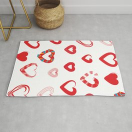 Different forms of love Rug