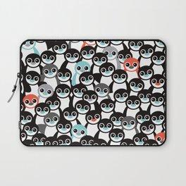 Quirky Penguin winter wonderland arctic animals Laptop Sleeve