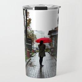 Ukraine Rain Travel Mug
