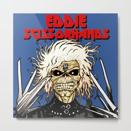 Eddie Scissorhands Metal Print