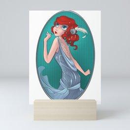 20s Fashun B Mini Art Print