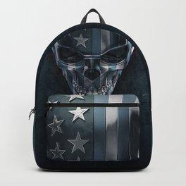 American Horror in Metal Backpack