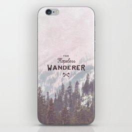 The Hopeless Wanderer iPhone Skin