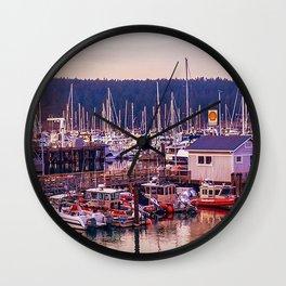 Boatscape Wall Clock