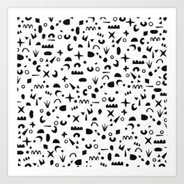 Paper Pieces Art Print