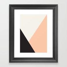 Getting Blocky Dark Framed Art Print