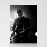 arctic monkeys Stationery Cards featuring jamie cook // arctic monkeys by Hattie Trott