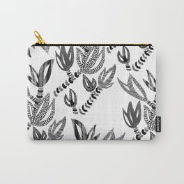 Tropical Succulent Carry-All Pouch