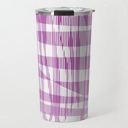 Purple/Violet Pattern Travel Mug