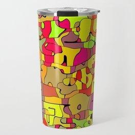 Abstract animals Travel Mug