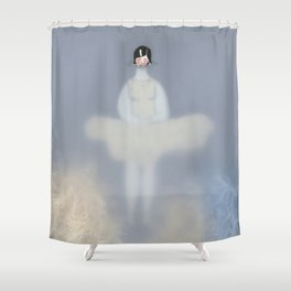 Dona d'aigua VI Shower Curtain