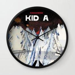 R a d i o h e a d - K i d   A Wall Clock