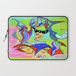 WITHOUT STOPPING Laptop Sleeve