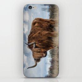 Bull animal 4 iPhone Skin