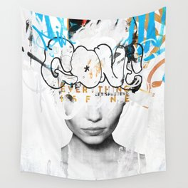 Gone Wall Tapestry