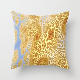 Fractal Abstract 89 Throw Pillow