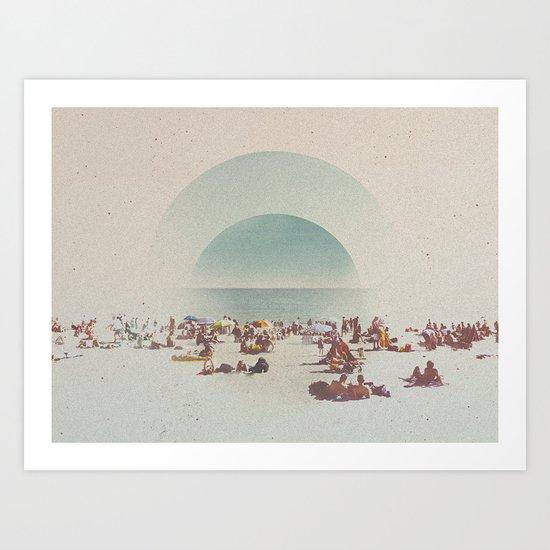 GRAIN ØF S4ND Art Print