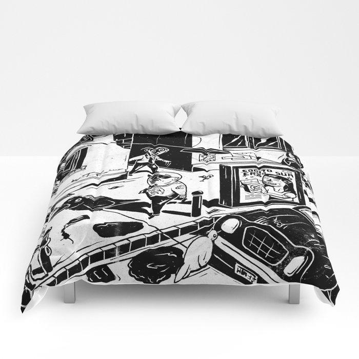 Pipien Molestus in the city Comforters