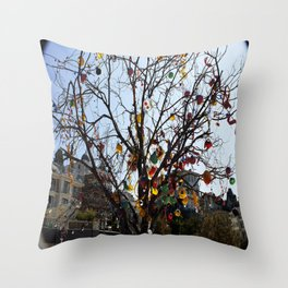 Balloon Tree1 Throw Pillow