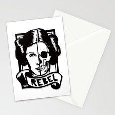 RIP Carrie Fisher 1956–2016 Stationery Cards