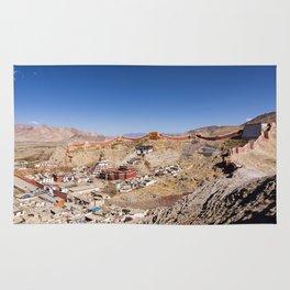 Gyantse town - Tibet Rug