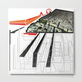 Paris - City of walKING Metal Print