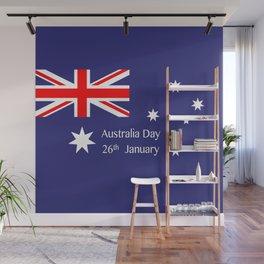 Australia Day Wall Mural