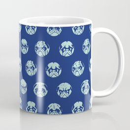 Polka Dot Pug Coffee Mug