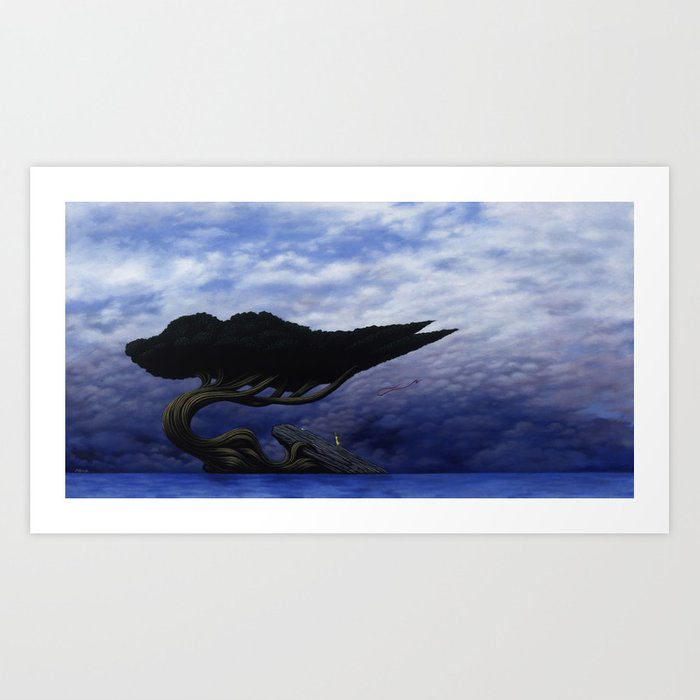 Angles of Transference Art Print