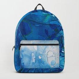Deep Blue Ocean Life Backpack
