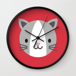 Cody the Cat Wall Clock