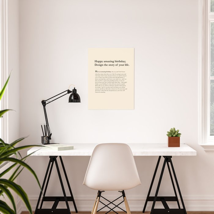 design your story Poster
