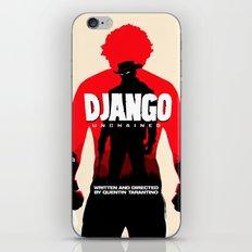 Django Unchained Poster iPhone & iPod Skin