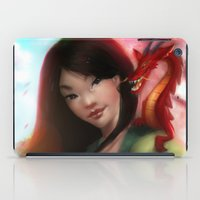 mulan iPad Cases featuring Mulan by ChrySsV