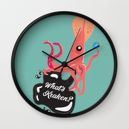 What's Kraken? Wall Clock