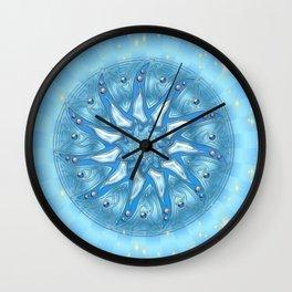 Mandala Kreativität Wall Clock