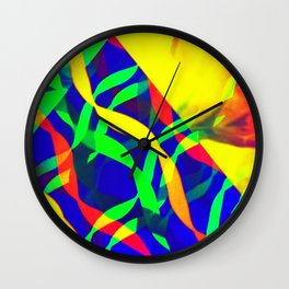 Eruption Wall Clock