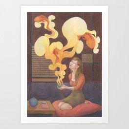 Teahouse of Wonder Art Print