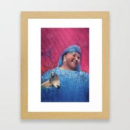Esma Redzepova Framed Art Print