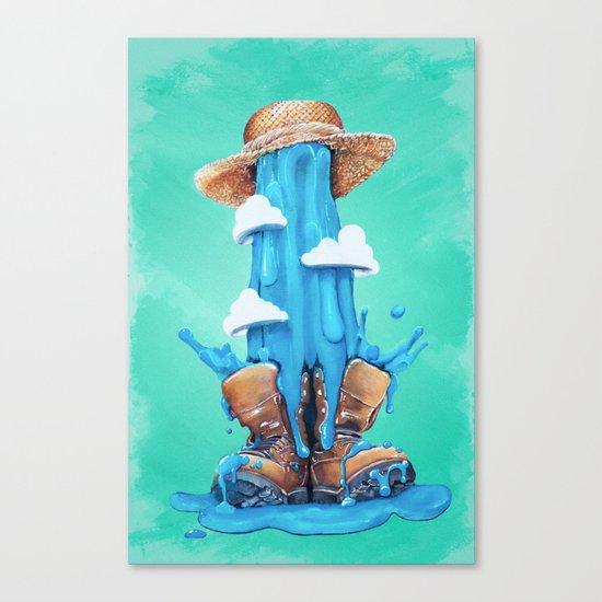 Intrusive Sky Canvas Print