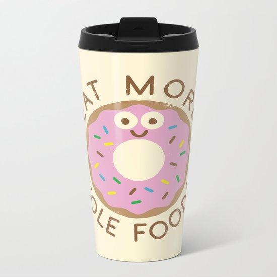 Do's and Donuts Metal Travel Mug