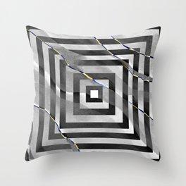 al stylish art squares design for home ornament. Throw Pillow