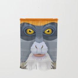 De Brazza's Monkey Wall Hanging