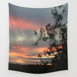 Sky flames Wall Tapestry