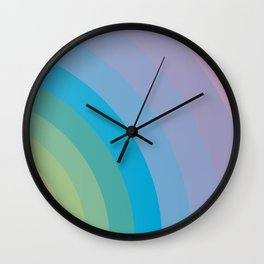 Fashion Background Wall Clock