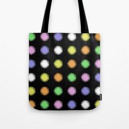 Rainbow Fuzz Tote Bag