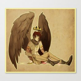 bird prince Canvas Print